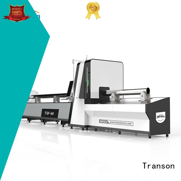 Transon industrial fiber optic laser cutting machine energy-saving factory supply
