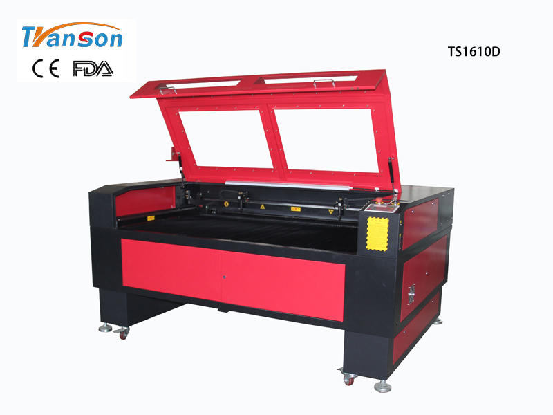 TS1610D Double Heads Laser Engraving Cutting Machine