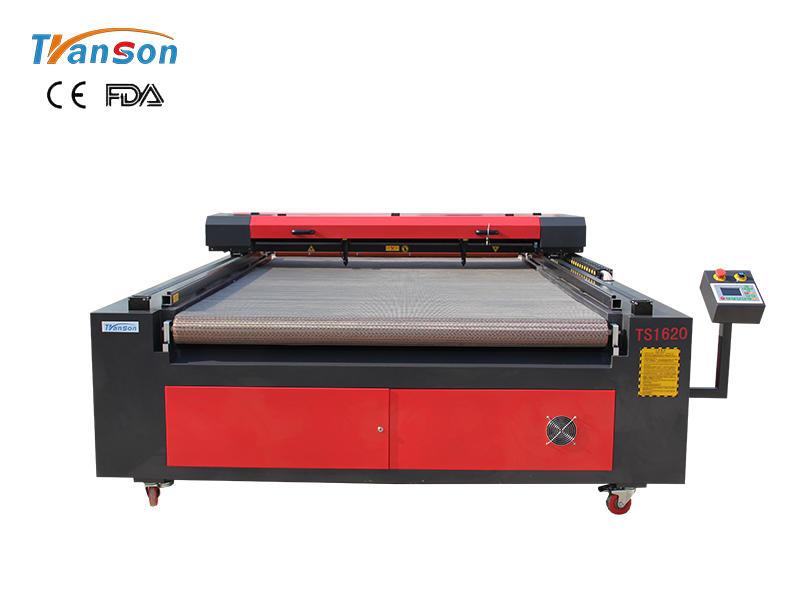 TSF1620 Auto Feed Fabric Laser Cutting Machine