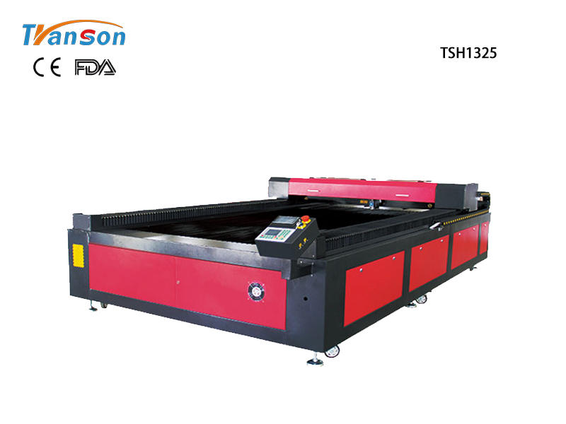 Mixed Metal And Nonmetal CO2 Laser Cutter TSH1325