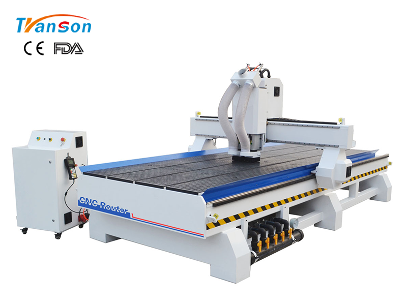 TSW1540 T2 Multi Spindle CNC Router Machine For Wood Furniture Industry