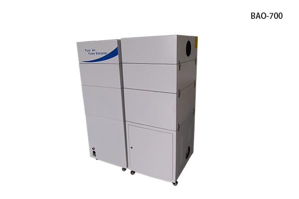Air filter for laser machine
