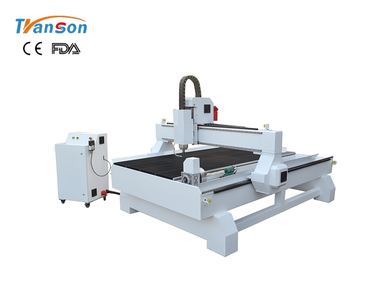 TSW1325 with rotary CNC Router Woodworking machine