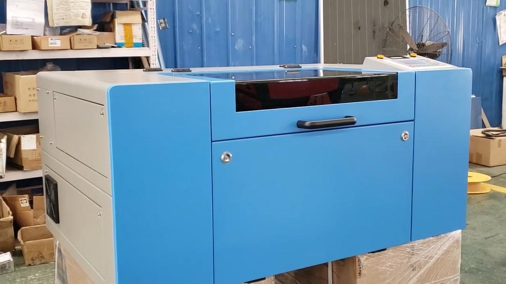 New 3060 co2 laser machine outlook