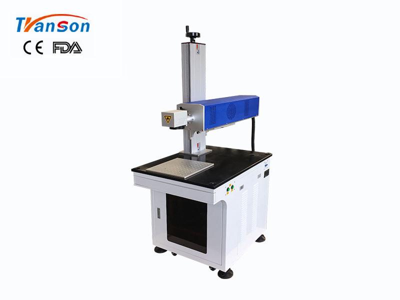Desktop Co2 laser marking machine 30W RF metal tube for nonmetal