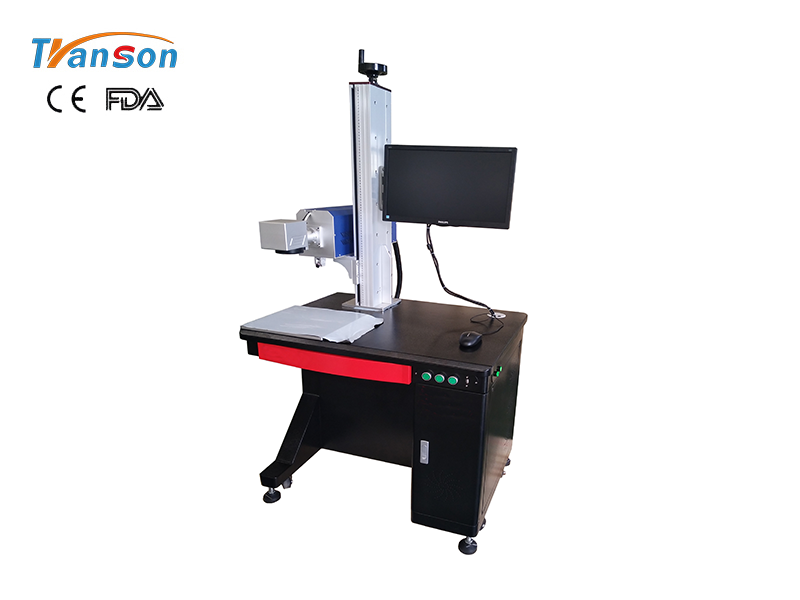 20W 30W co2 RF tube laser marking machine for nonmetal