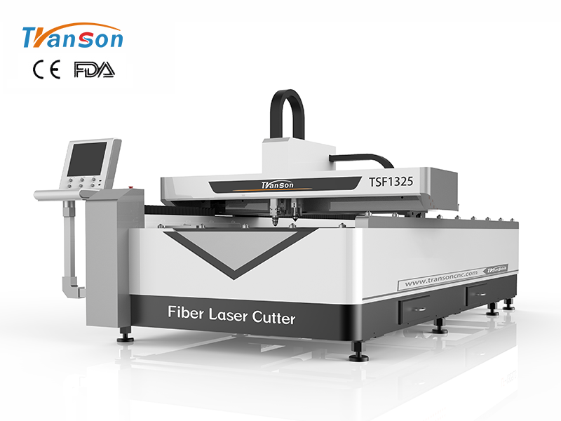 TSF1325 Fiber CO2 dual use fiber laser cutting machine for metal and nonmetal
