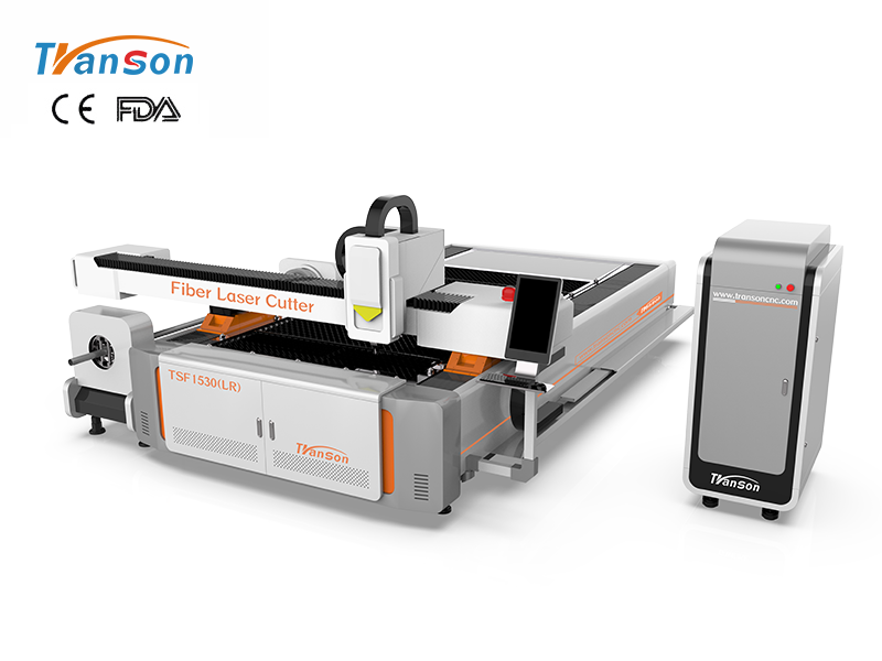 TSF1530 (LR) fiber laser cutting machine for tube and plate 1000W-3000W
