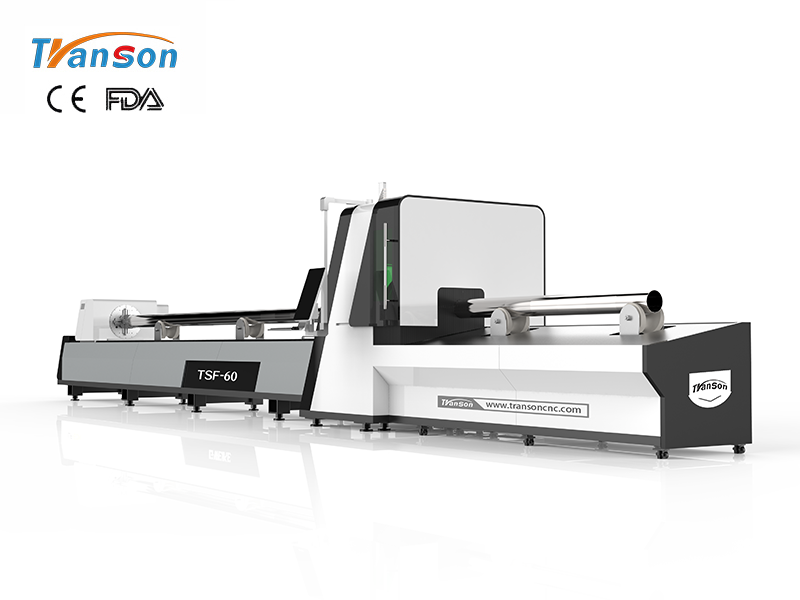 TSF-60 6m fiber laser tube cutting machine Dia.20-220mm