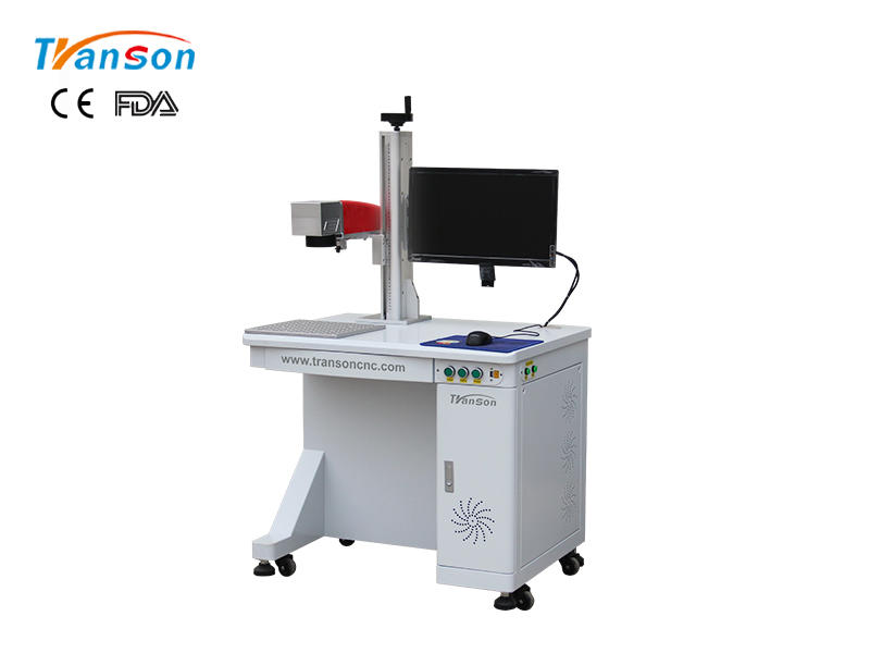 Desktop Fiber Laser Marking Machine For Metal Engraving 20W 30W 50W 100W
