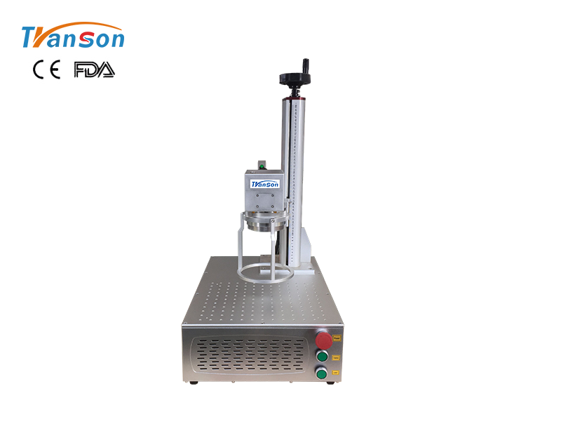 Mini Handhold Metal Fiber Laser Marking Machine 20W 30W 50W