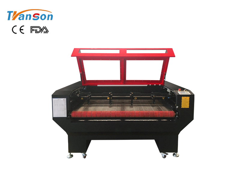 4 laser heads 1610 laser cutting machine with auto feeding worktable