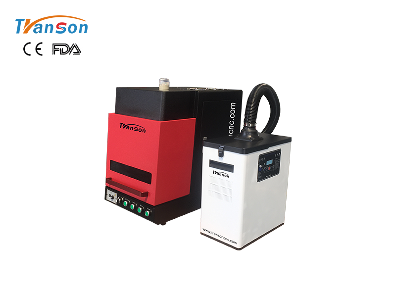 High-performance fiber laser marker with air filter