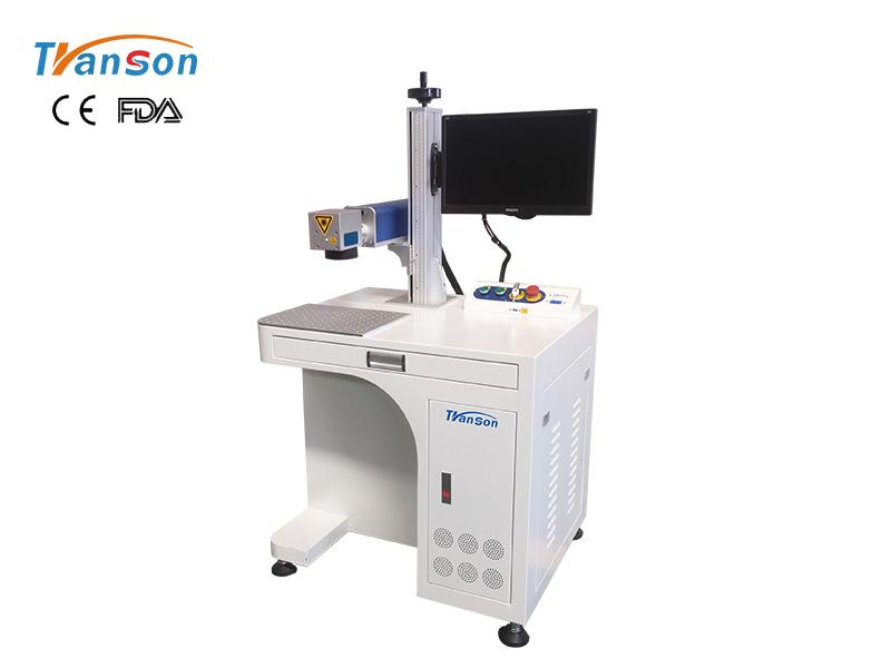 Economical desktop fiber laser marking machine
