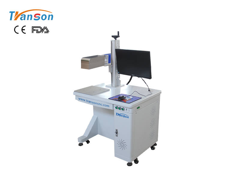 TSF desktop 3D fiber marking machine-Dynamic focusing