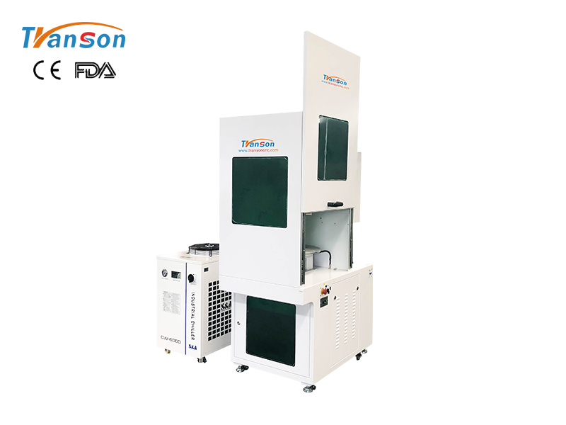 Coherent 100W 3D Dynamic CO2 Laser Marking Machine 300x300mm working area