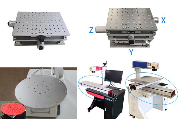 2D 3D slide industrial worktable for laser marking machine