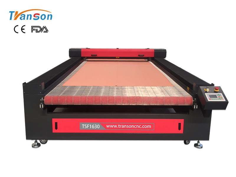 TSF1630 Auto Feed Fabric Laser Cutting Machine