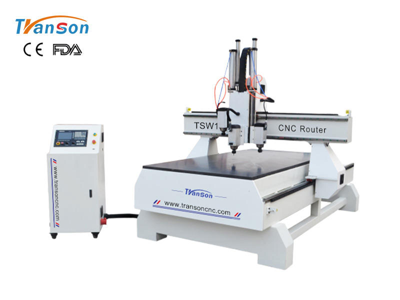 TSW1325 T3R 4 axis cnc router machine for sale