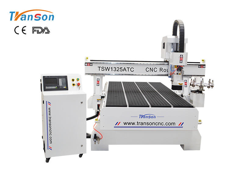 TSW1325 atc cnc router with round disk