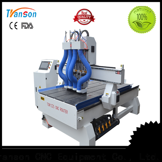 Transon multi head cnc router durable bulk order
