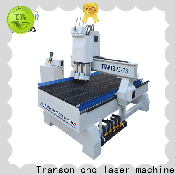 Transon multi head cnc router best price for wholesale
