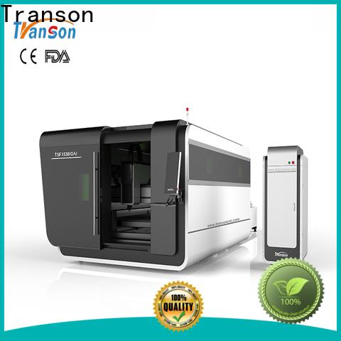 Transon industrial fiber laser cutting machine easy-operation customization