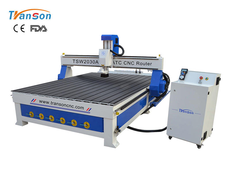 TSW2030A ATC CNC Router linear 8 tools