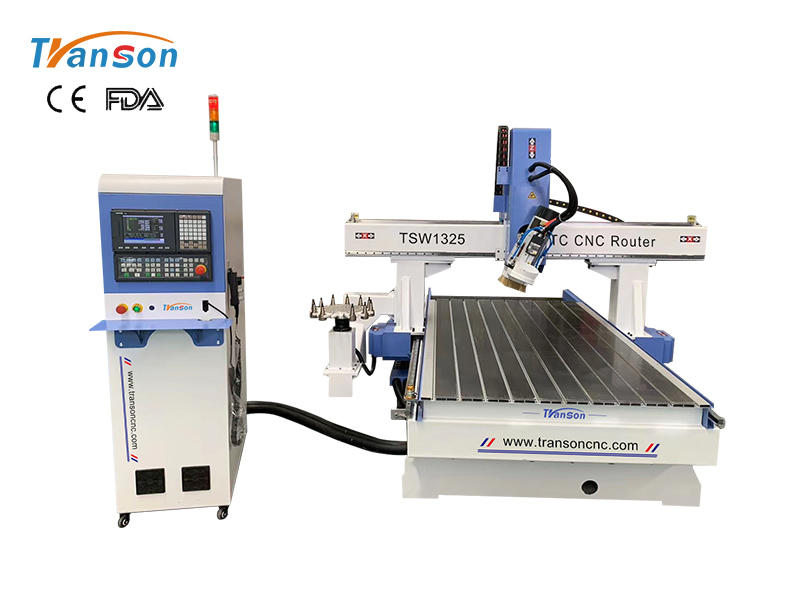 1325 Spindle Swing 180 Degree 3D Carving ATC CNC Router