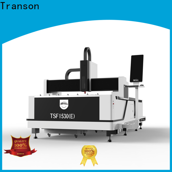 Transon fiber laser cutting machine top selling customization