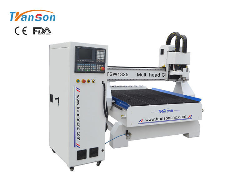 Best cnc router machine TSW1325HL-OT HSD 9KW+SNYTEC