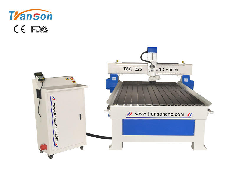 TSW1325 CNC router machine 3KW with DSP controller T slat almuminum worktable