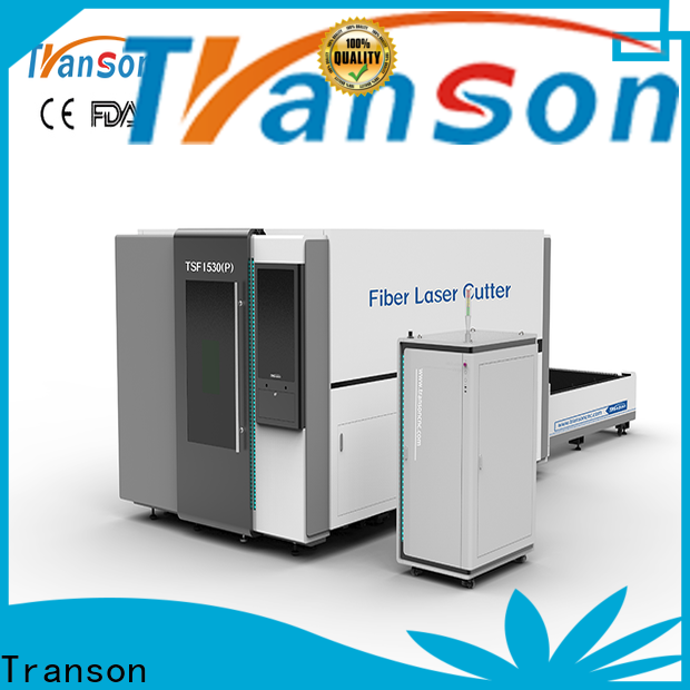 Transon fiber laser cutting machine easy-operation fast delivery
