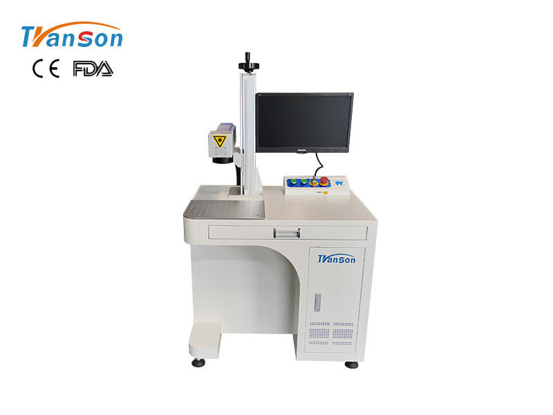 Desktop fiber laser marking machine 20w 30w 50w