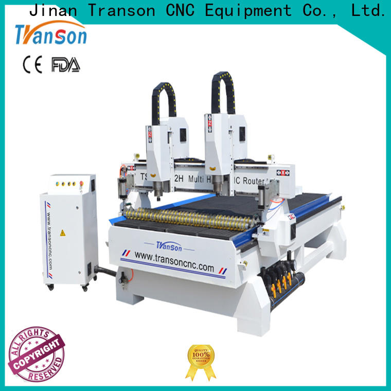 Transon 4 axis cnc router durable for customization