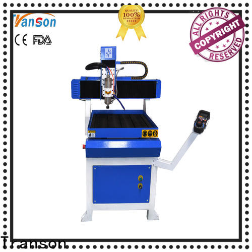 Transon mini cnc router machine metal engraving easy operation
