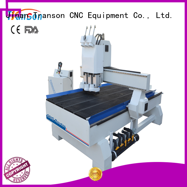 Transon latest multi spindle cnc router factory supply for wholesale