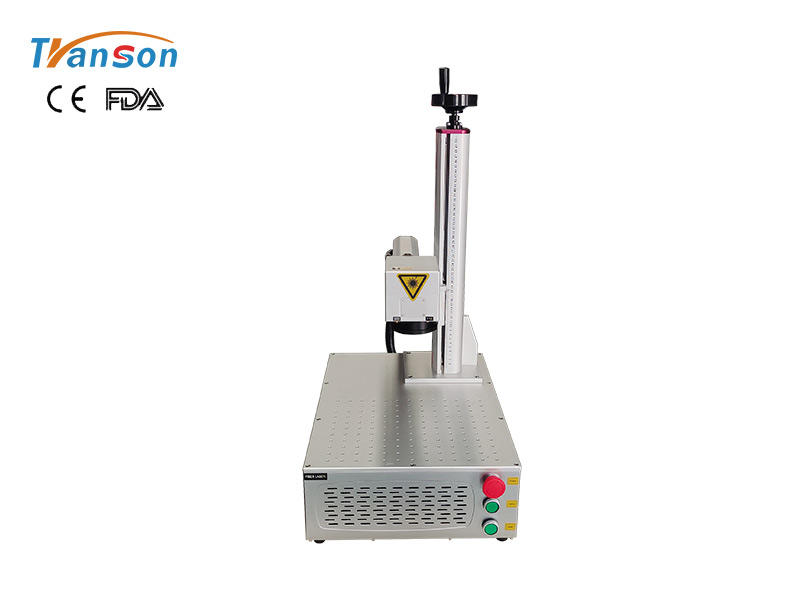 Mini Fiber Laser Engraver Metal Marking Machine 20W 30W 50W