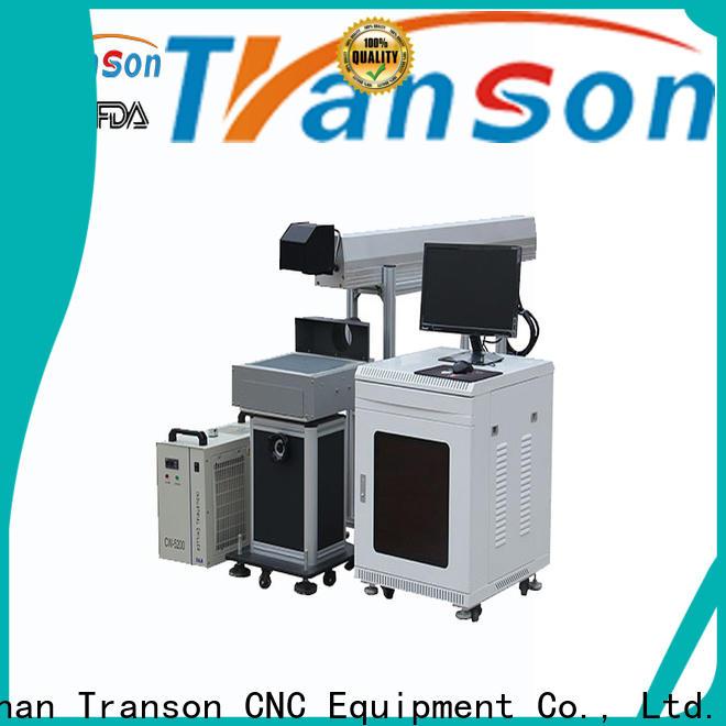 Transon oem co2 laser marking machine high performance for metal