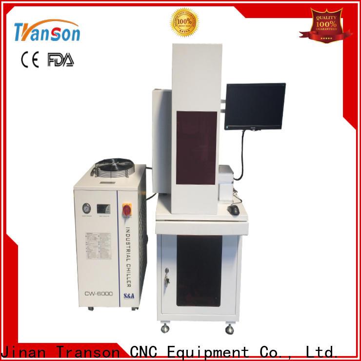 Transon co2 laser marking popular for metal