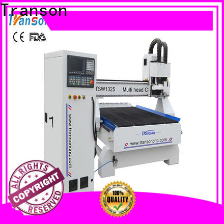 Transon trendy multi head cnc router best price for wholesale