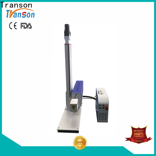 Transon co2 marking machine high quality for metal