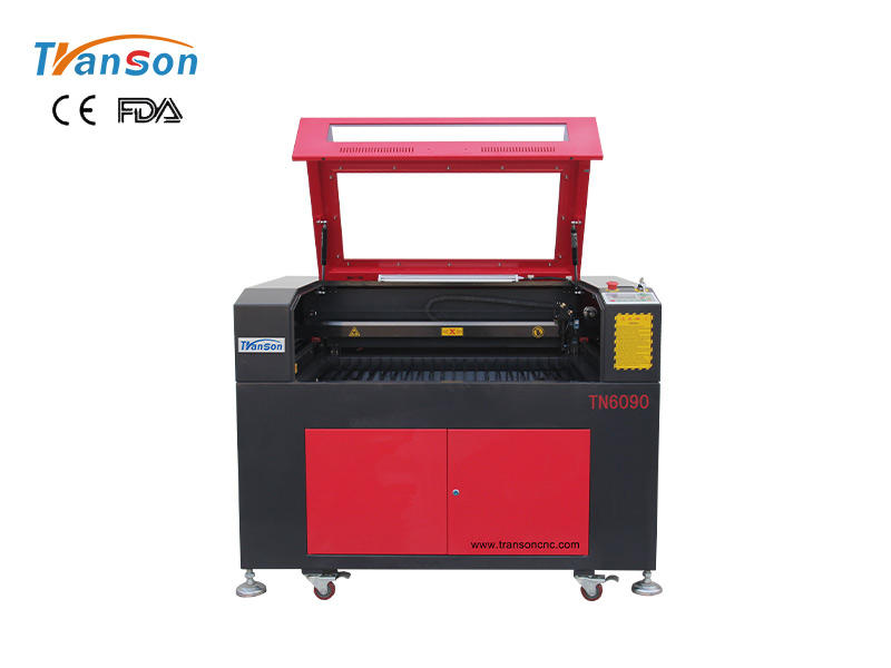 TN6090 CO2 Laser Engraver Cutter For Nonmetal Wood MDF Acrylic Leather