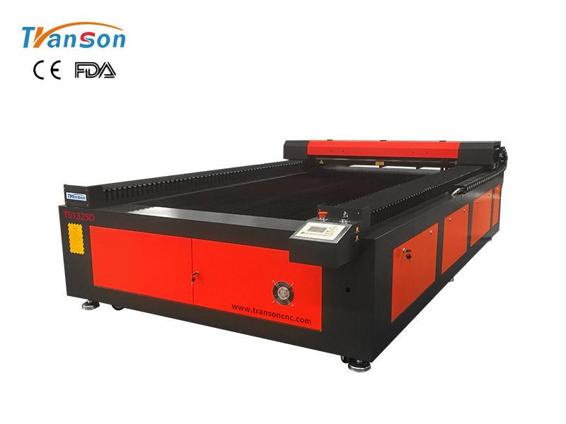 TS1325D double headed CO2 laser machine