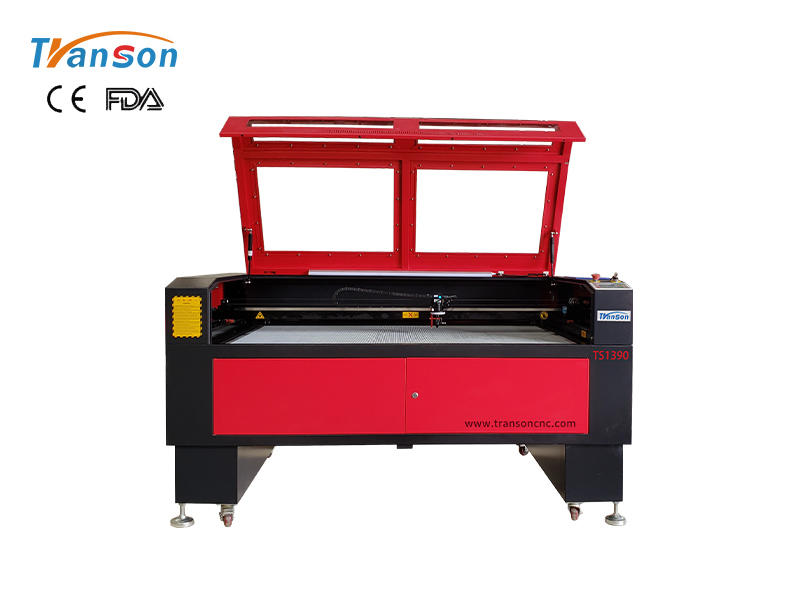 laser machine with CCD camera