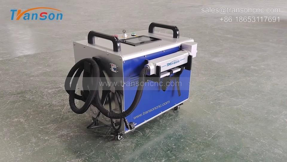 50W 100W Laser Cleaning Machine - Laser Rust Remove
