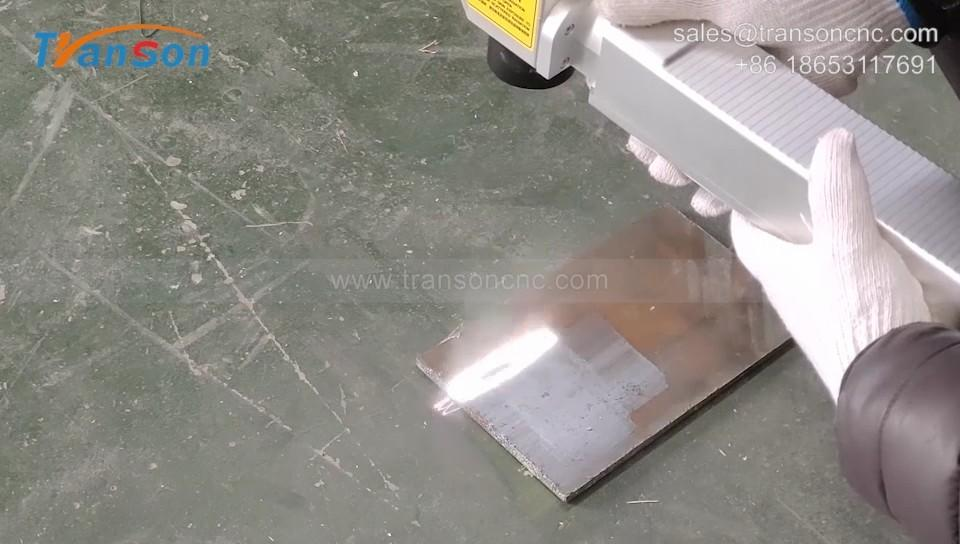 Laser Cleaning Rust Removal