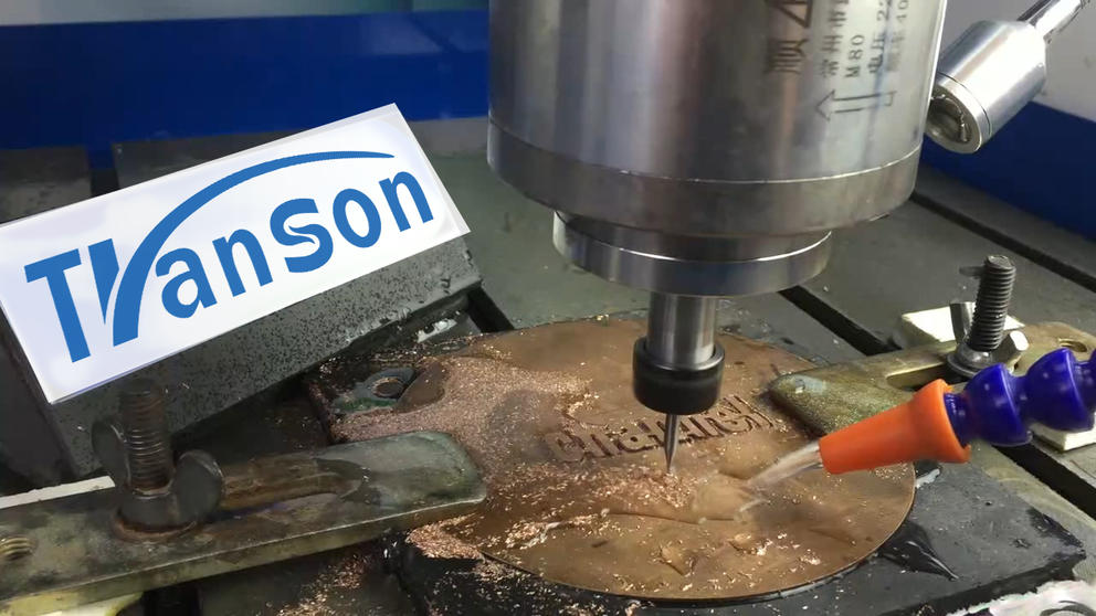 MINI CNC Router Cut Copper