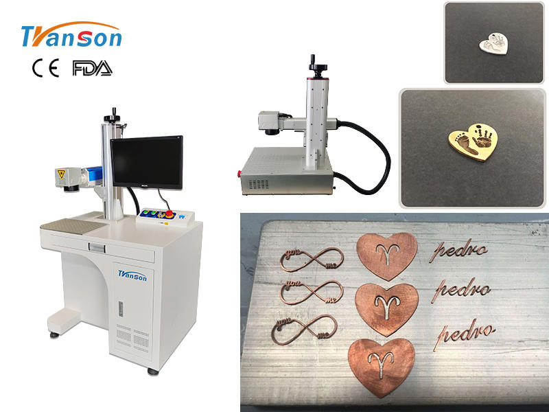 Transon 2021 desktop mini cutting laser machine for cutting gold and silver jewelry for home use