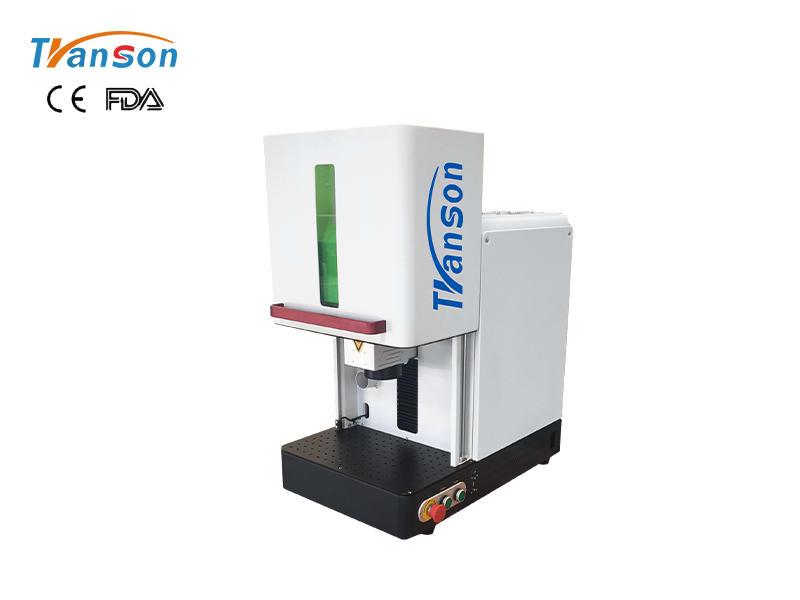 Transon CNC Enclosed Fiber Laser Marker For Metal Plastic